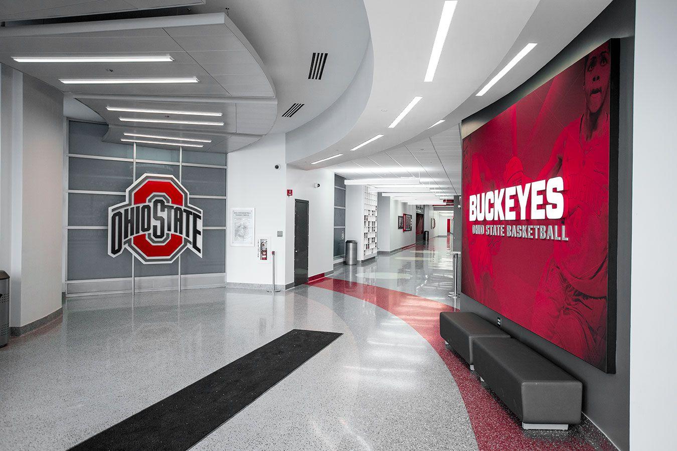 The Ohio State University Basketball Basketball Design Ohio State Basketball Buckeye Basketball