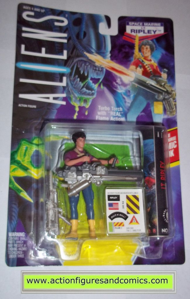 aliens vs predator kenner RIPLEY LT 1992 movie moc mip mib action figures space marines hasbro toys