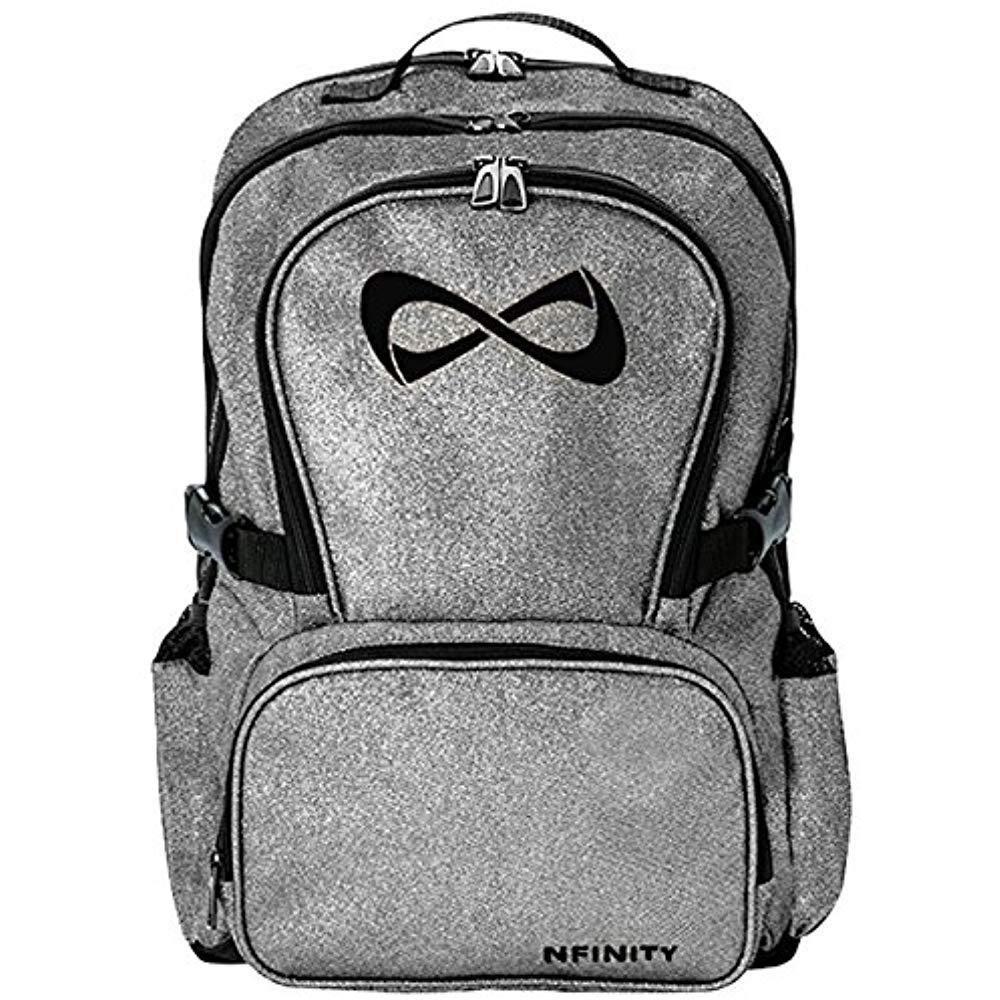 ec5d0b5834 Backpack Other Team Sports With Logo Sparkle GreyBlack eBay