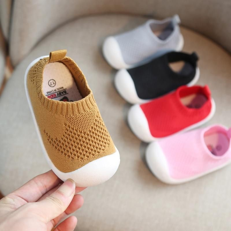 Newborn Baby Girls Boy Mesh Sport Sneakers Cool Style Soft Sole Cotton Shoes