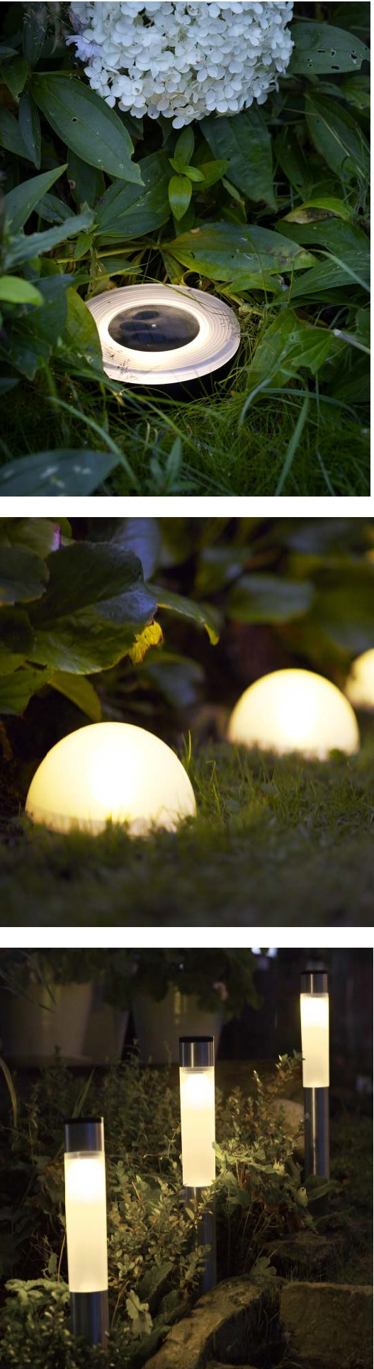Light The Way With Solvinden Solar Powered Lights Perfect For Your Yard And Pathways Jardines Iluminacion Jardin Lampara De Jardin