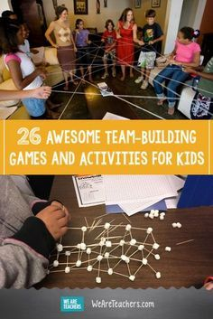33 Awesome Team-Building Games and Activities for Kids