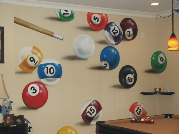 Fort Mill Pool Balls Mural Photos In Fort Mill South Carolina Pool Table Room Billiards Pool Balls