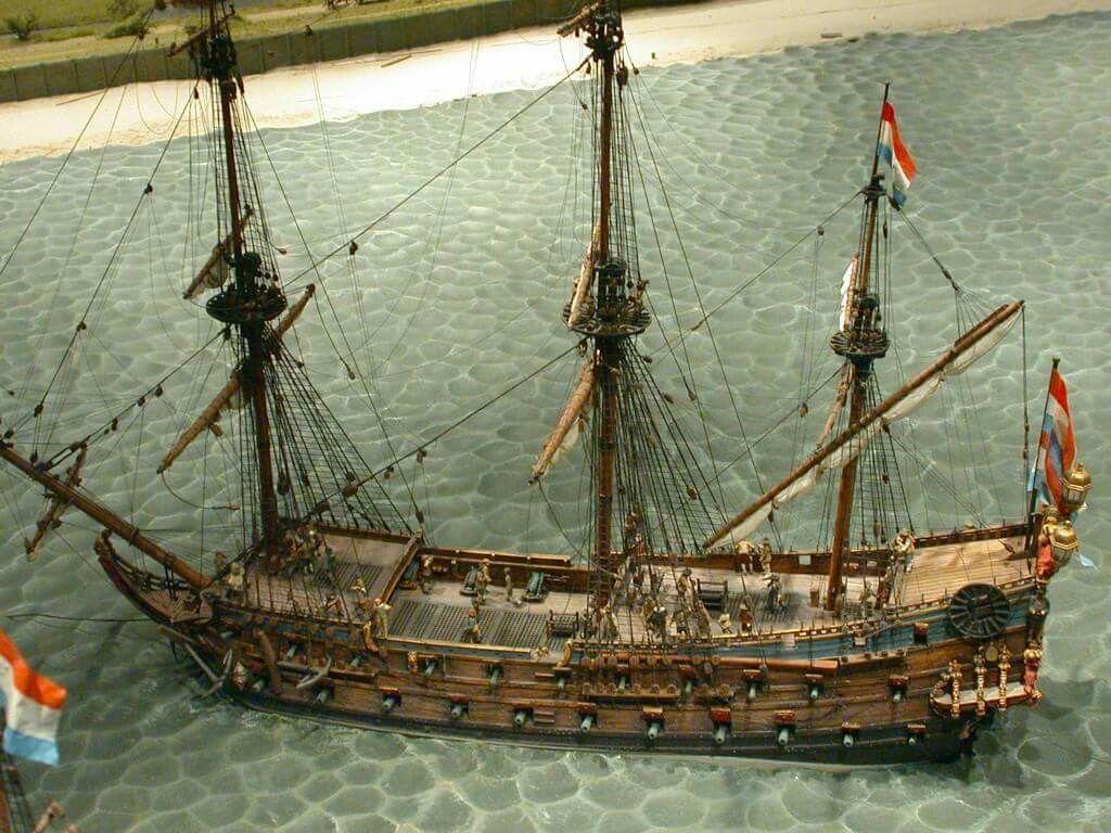 17th Century Dutch Man o' War | Schepen, Zeilschepen, Schip