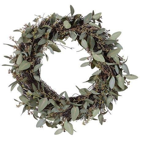 Photo of Green eucalyptus wreath