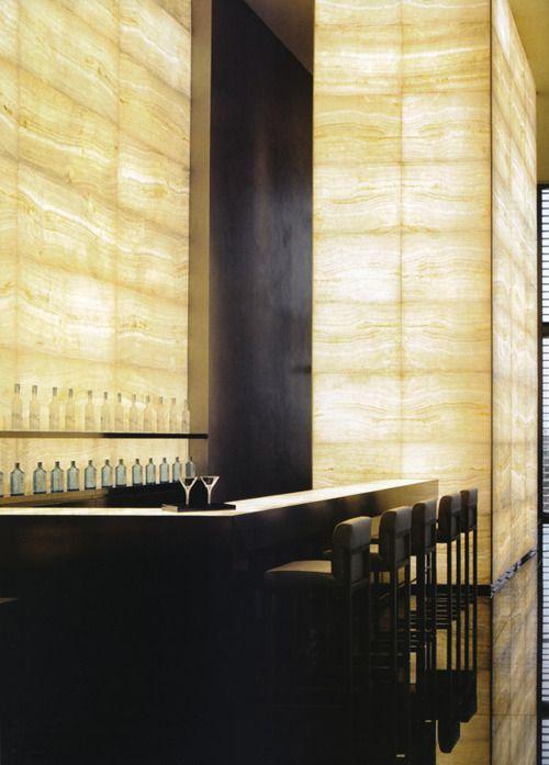 Interiors of the armani hotel architecture - Ristorante bagno marino archi ...