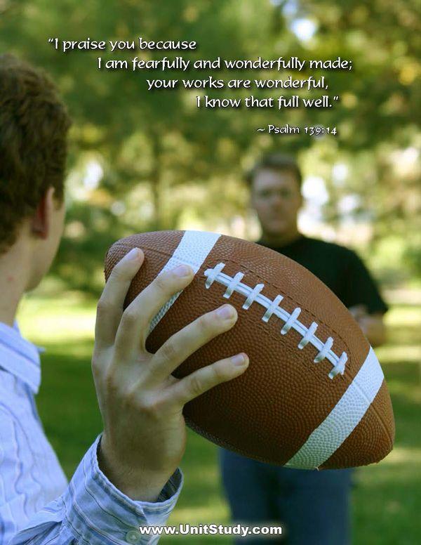 Football Frenzy   Words of encouragement. Football