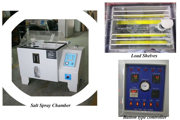 Button Controller Salt Spray Test Machine Is A Standardized Test Method Used To Check Corrosion Resistance Of Coated Samples Since Salt Spray Spray Corrosion