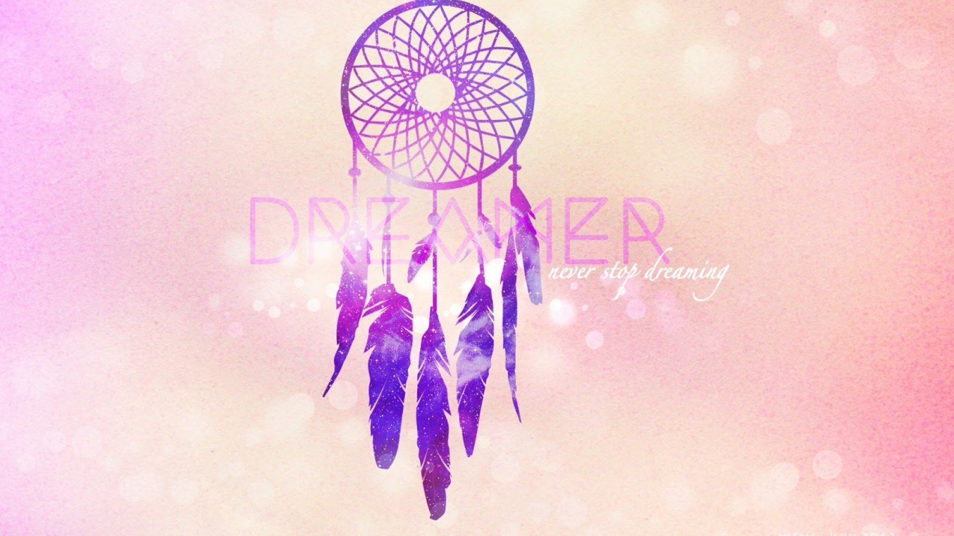 dreamcatcher with quote 1080p wallpapers 1920x1080