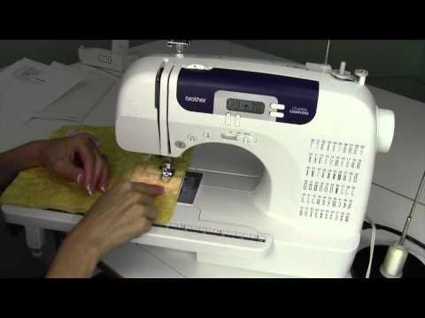 Brother Cs 6000i 41 Free Motion Quilting How To Video Brother Cs6000i Sewing Machine Brother Sewing Machines Quilt Stitching