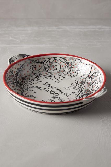 Crowned Leaf Bakeware - anthropologie.com