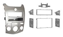 Metra - Installation Kit for Select 2010 and Later Kia Forte and Forte Koup Vehicles - Silver