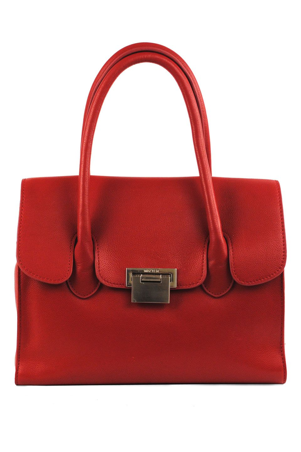 Walter Baker Maranello Tote In Red Haute Couture Handbags Designer