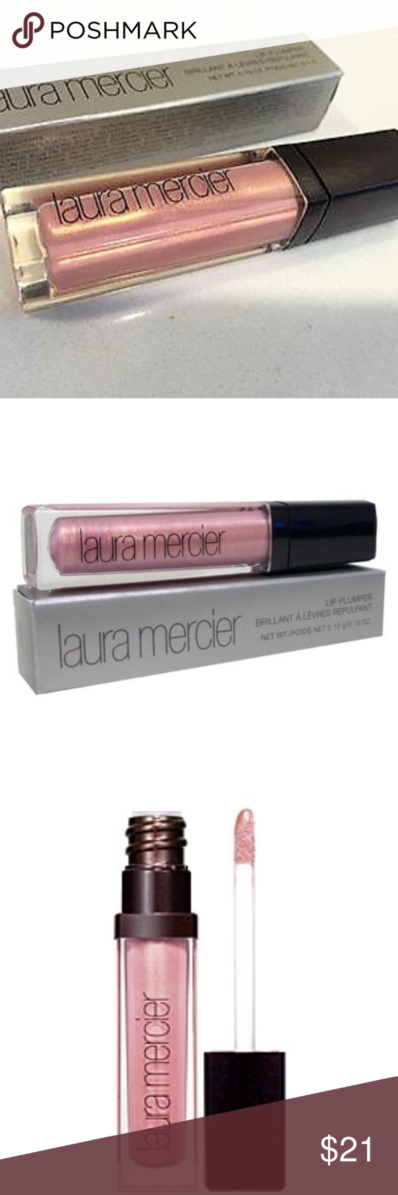 Last One Nib Lip Plumper Pink Pearl Laura Mercier Boutique Lip Plumper Lip Moisturizer Pink Pearl