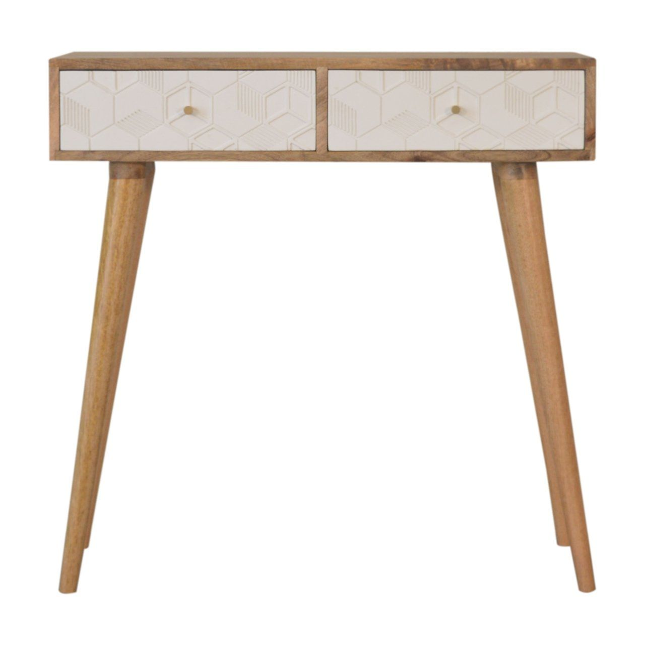 Photo of Acadia White Console Table