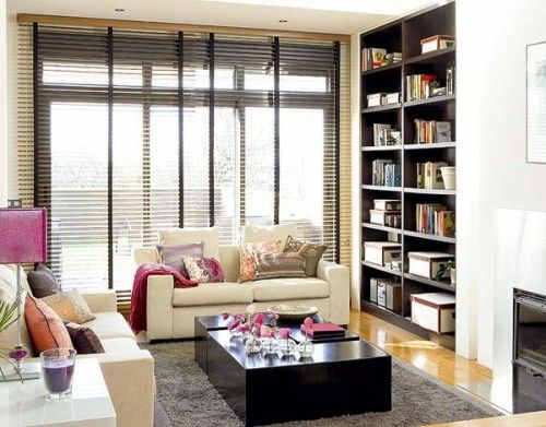 50 Ideas To Organize A Home Library In A Living Room Shelterness Mesmerizing How To Organize A Small Living Room Inspiration