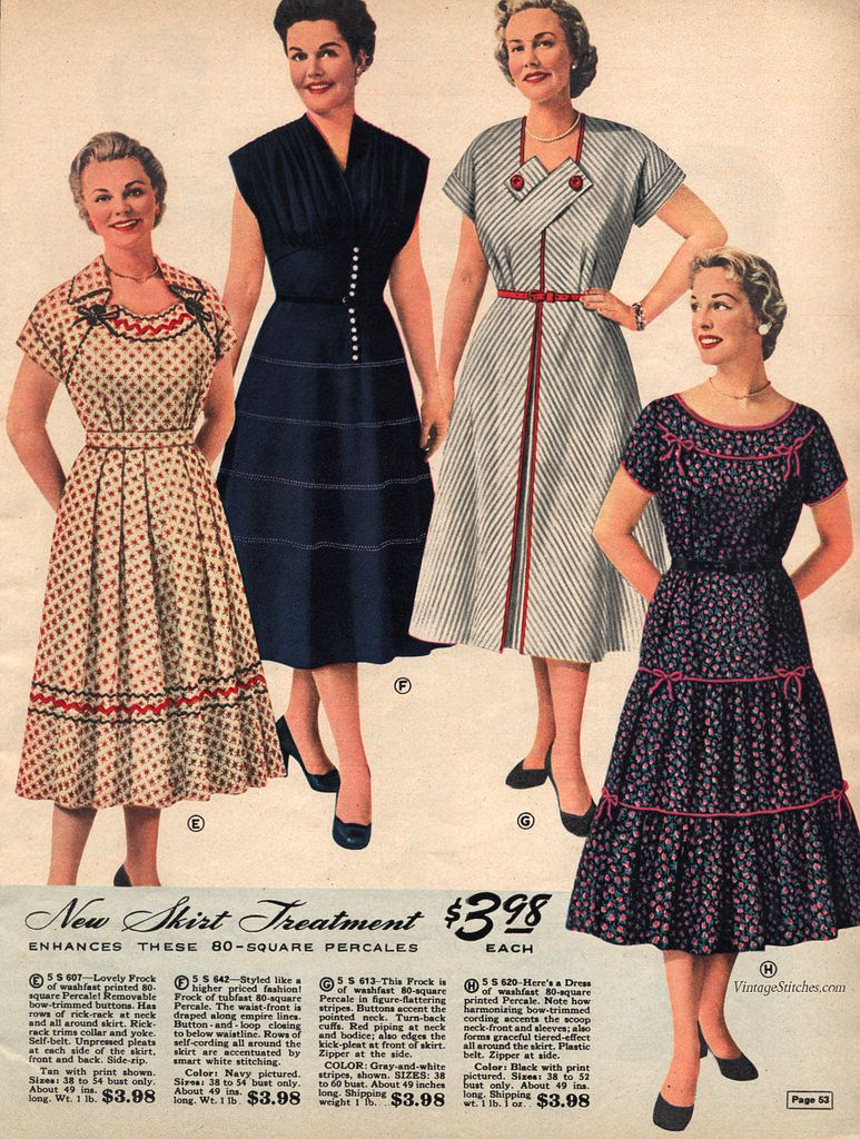 507561b6bad Spring and Summer 1955 Lane Bryant in 2019