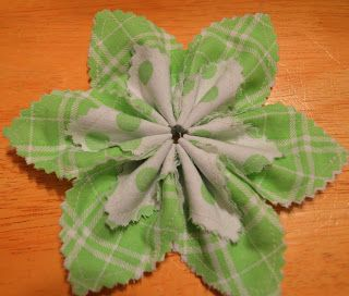 Super Easy Fabric Flower Tutorial   Bumbleberries Boutique