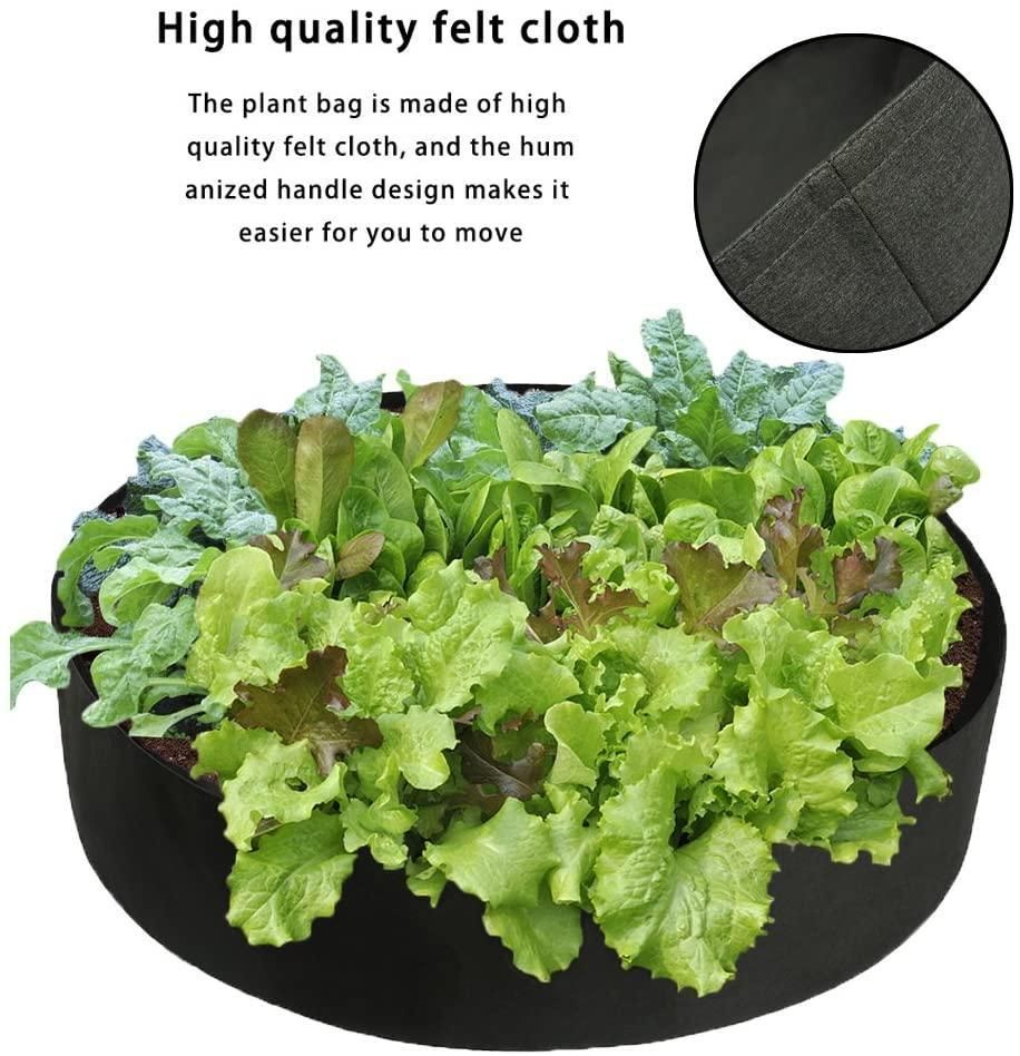 Fabric Raised Planting Bed POPLOVE in 2020 Plants for