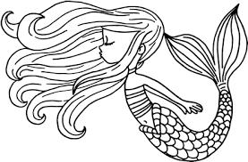 Sirenas Para Dibujar Kawaii Para Colorear Busqueda De Google Sirena Para Colorear Sirenas Tatuajes De Sirenas