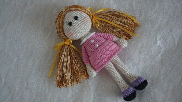 Crochet Amigurumi Doll Free : Doc mcstuffins doll crochet pattern amigurumi today