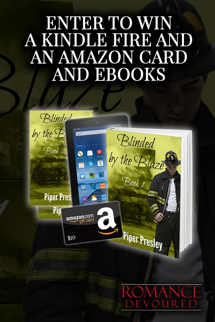 Win A Kindle Fire, A $10 Amazon Gift Card & Ebooks From Author Piper  Presley · Nicholas Sparksromance