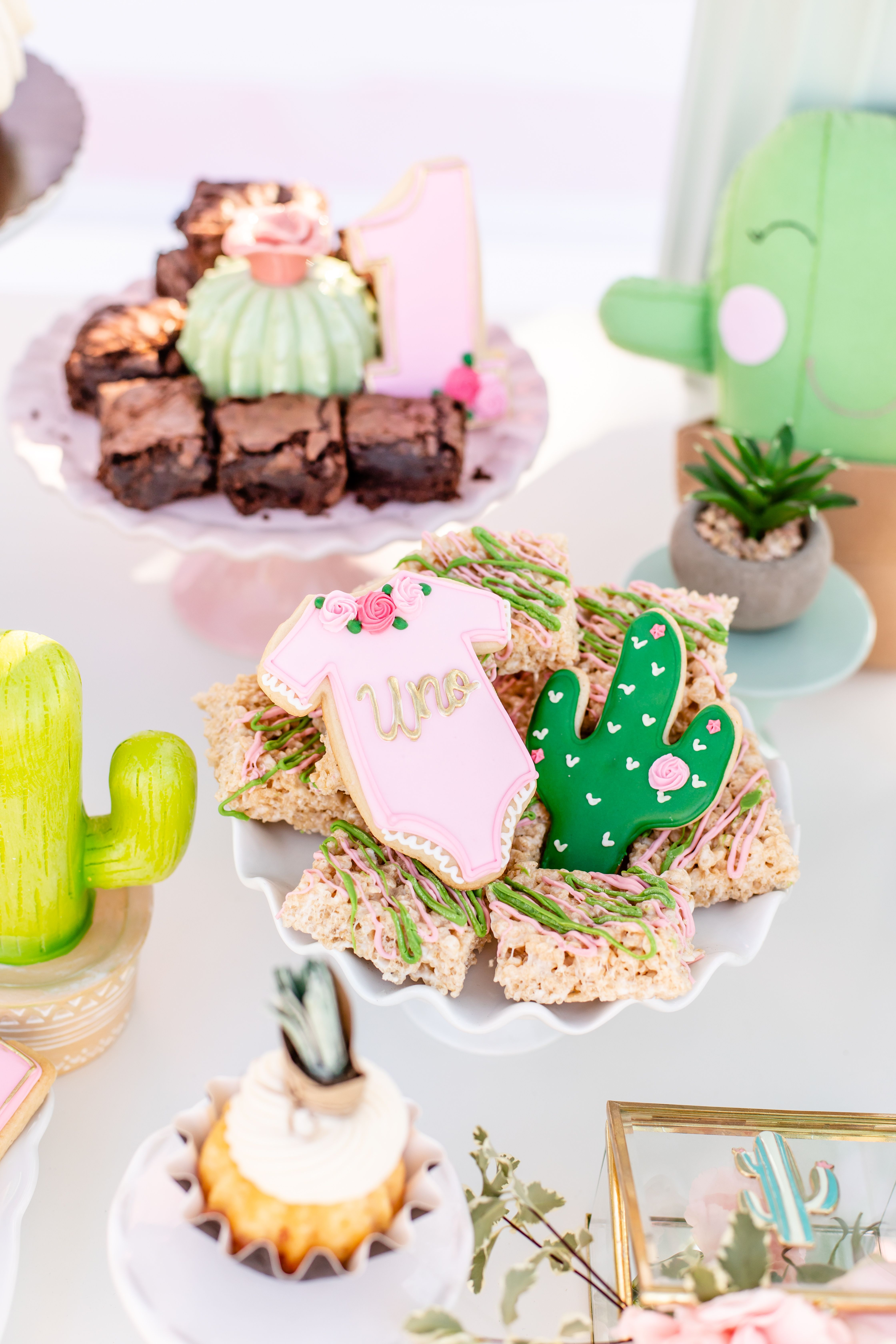 Cactus Themed Birthday Party