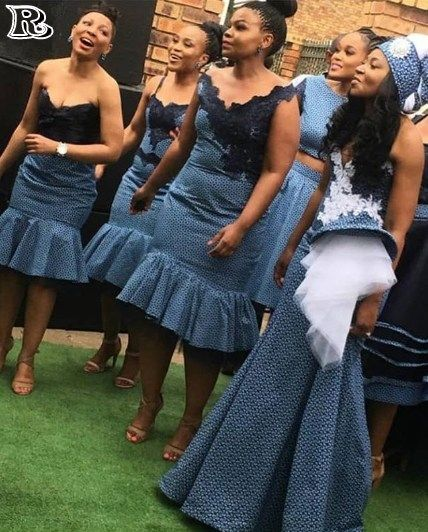 Choose Shweshwe Wedding Dresses