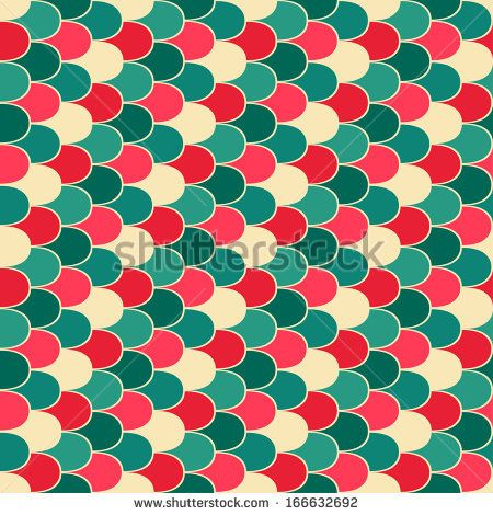 Scales seamless vector pattern by Mrs. Opossum, via Shutterstock