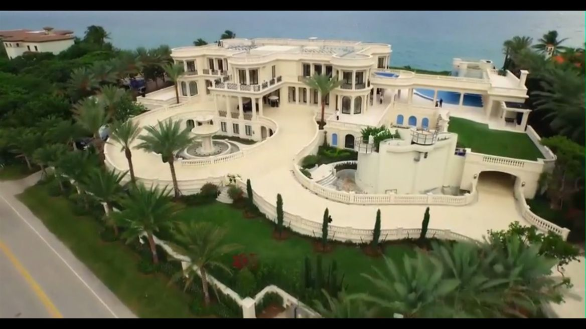 See Inside America S Most Expensive House Expensive Houses Mansions Beach Mansion
