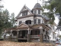 abandoned victorian house
