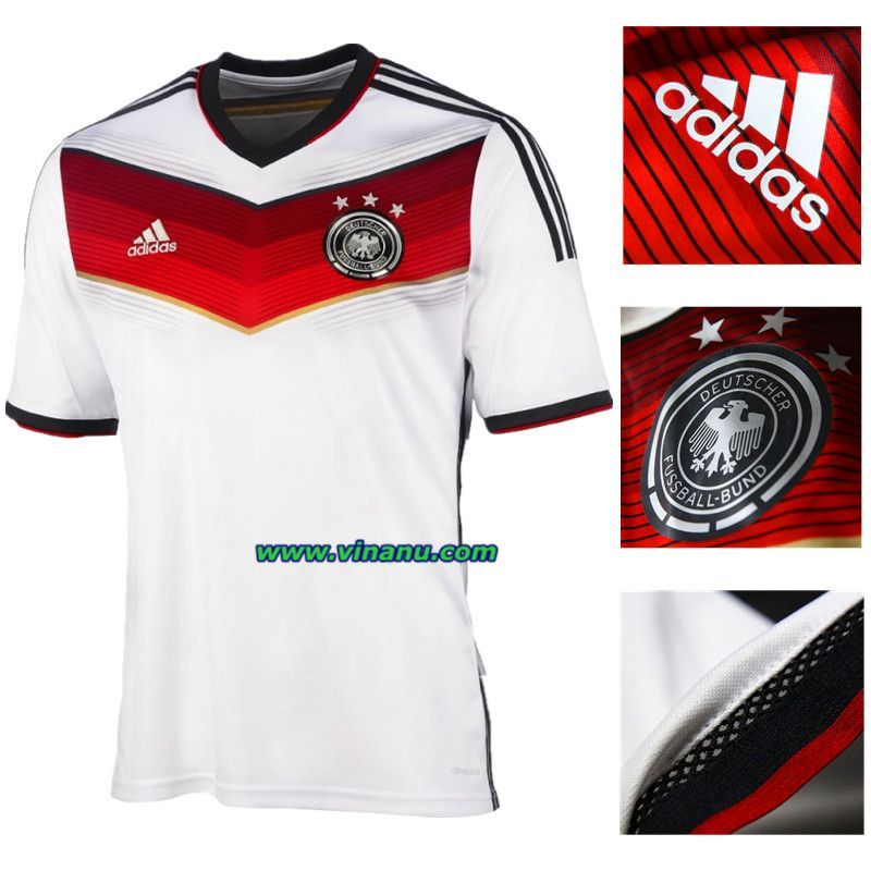 Home Kit Germany 2014 World Cup Germany National Football Team World Cup National Football Teams