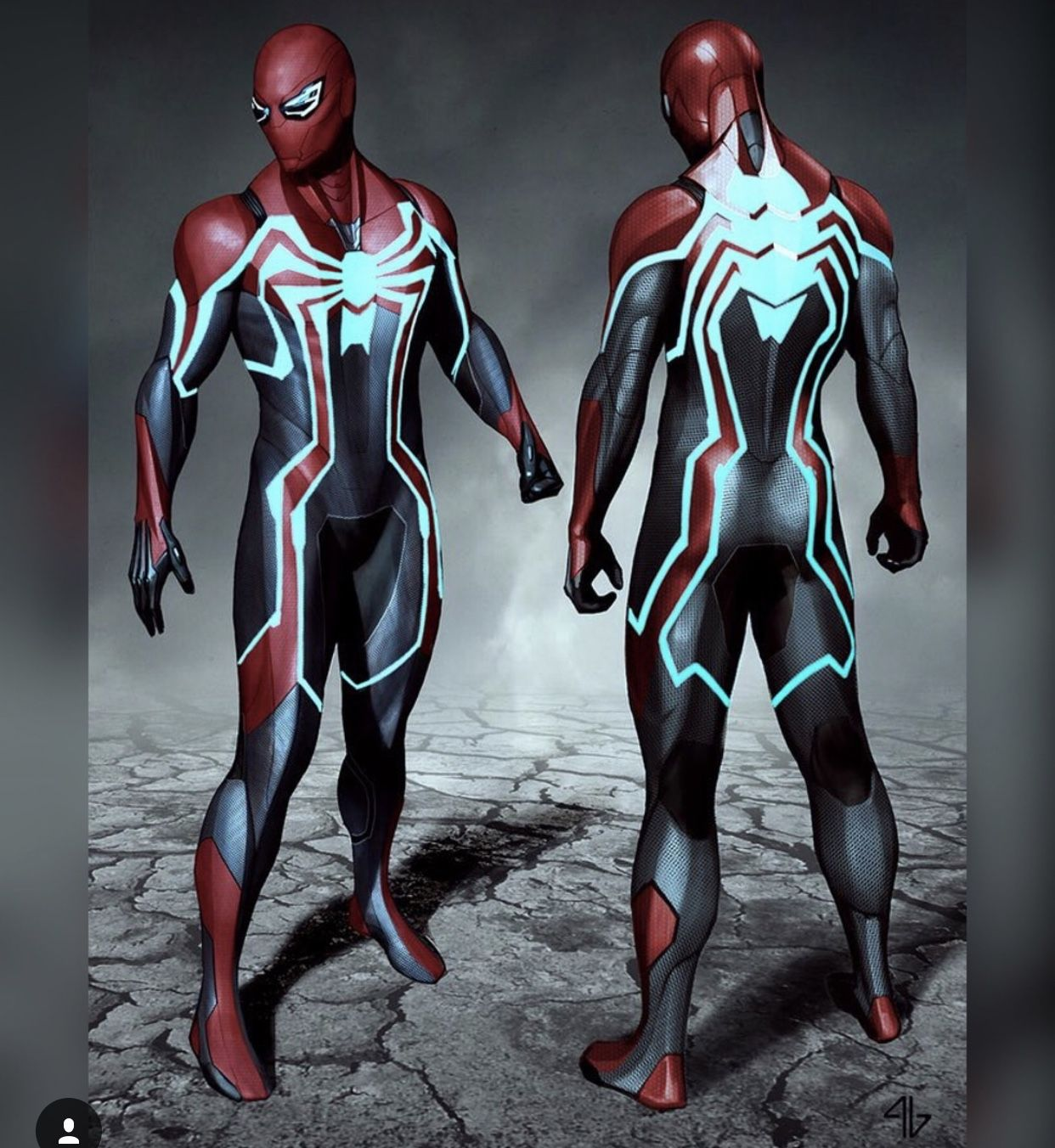 spider-man ps4 - velocity suit | marvel | pinterest | spiderman