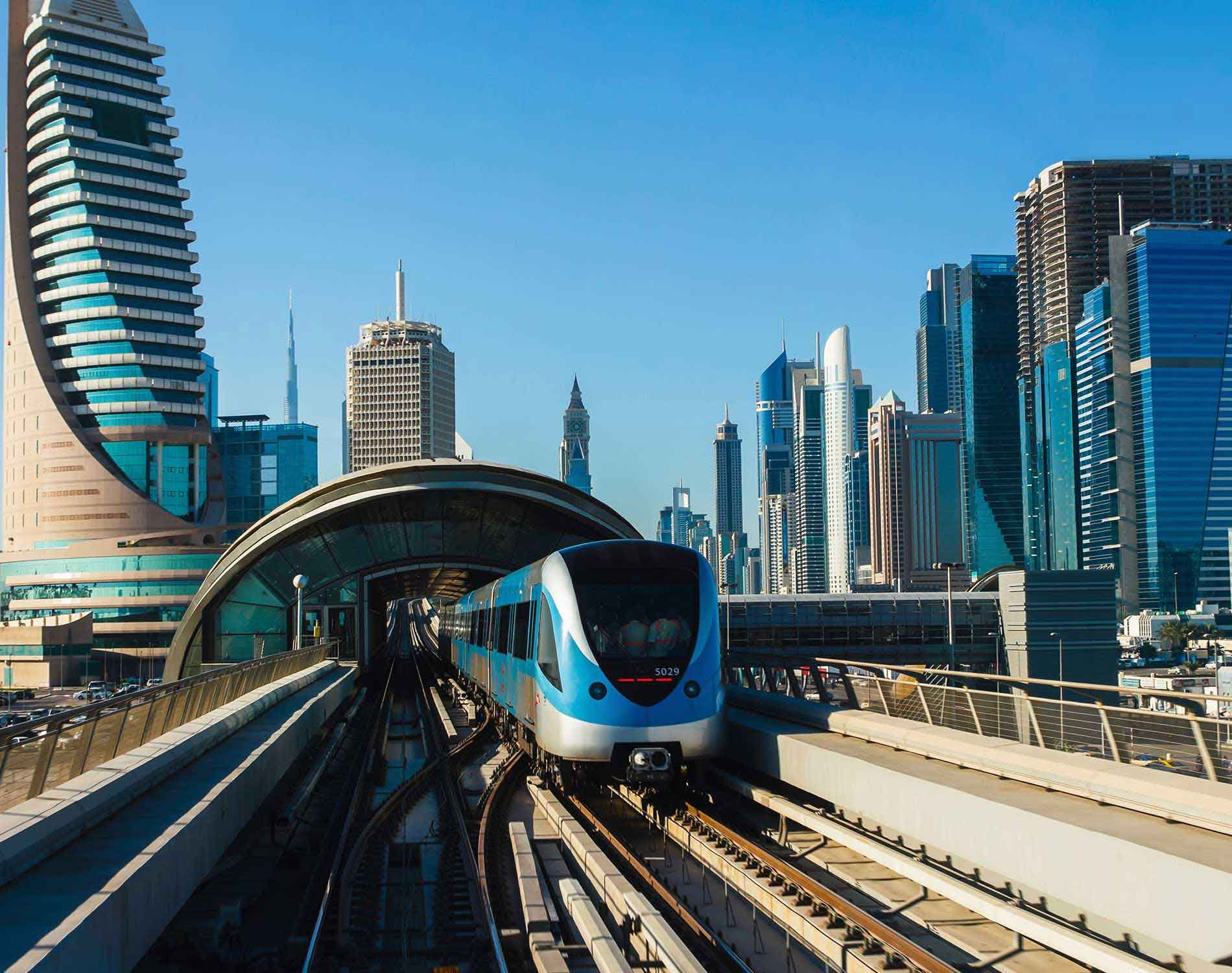 how to get to burj al arab by metro