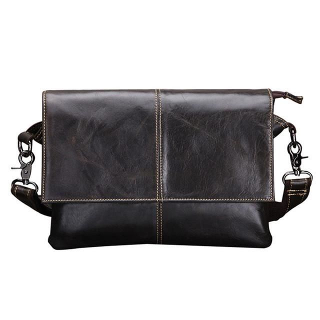 12751894f3 Look the part and liven up those formal occasions with this luxury designer leather  satchel messenger bag for men.