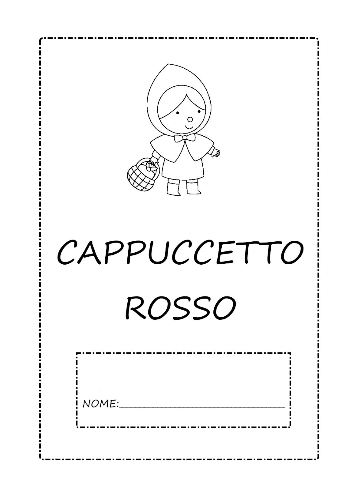 Cappuccetto Rosso 0 Copertina Png 1166 1600 Cappuccetto Rosso Rosso Letture Per Bambini