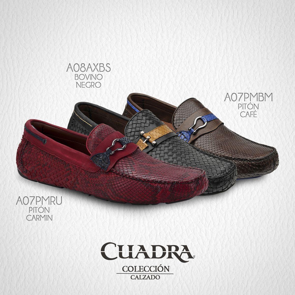 2c86812d464 La máxima combinación entre casual y elegante.  CUADRA  Shoes  Leather   Zapatos…