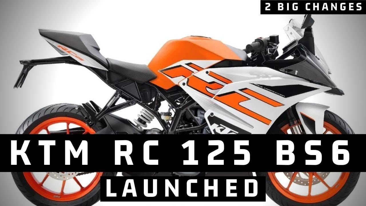 Finally 2020 Ktm Rc 125 Bs6 Launched 2 New Changes