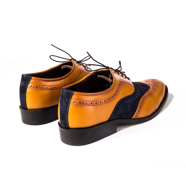Buy these Tan Brogue@ INR 1925/- www.prideswalk.com