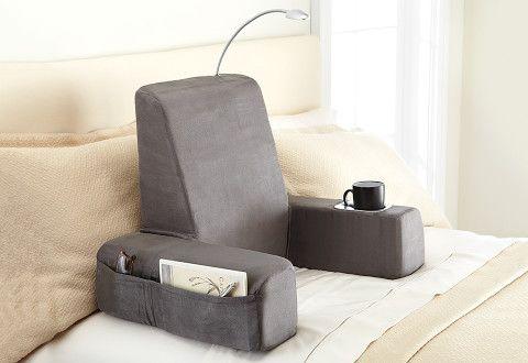 Warming Backrest Massager Sharper Image Bed Pillows Backrest