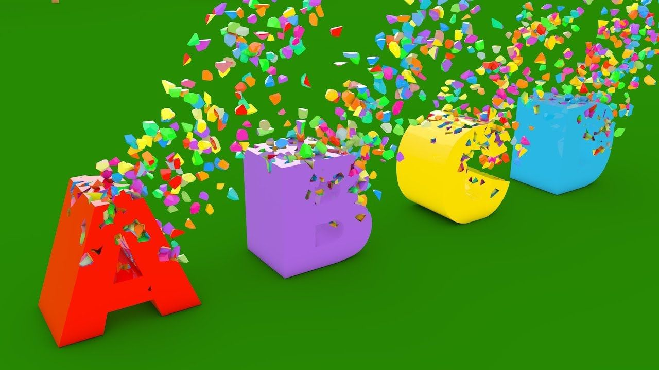 Learn Colors and Alphabets for Children with A Lot of 3D Color ...