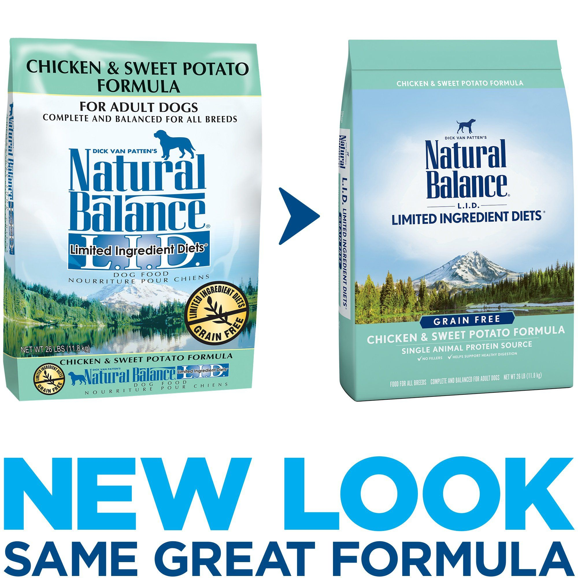 Natural Balance L I D Limited Ingredient Diets Grain Free Chicken