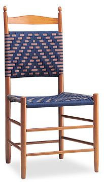 Shaker chair tape weaving Woven chair, Shaker furniture