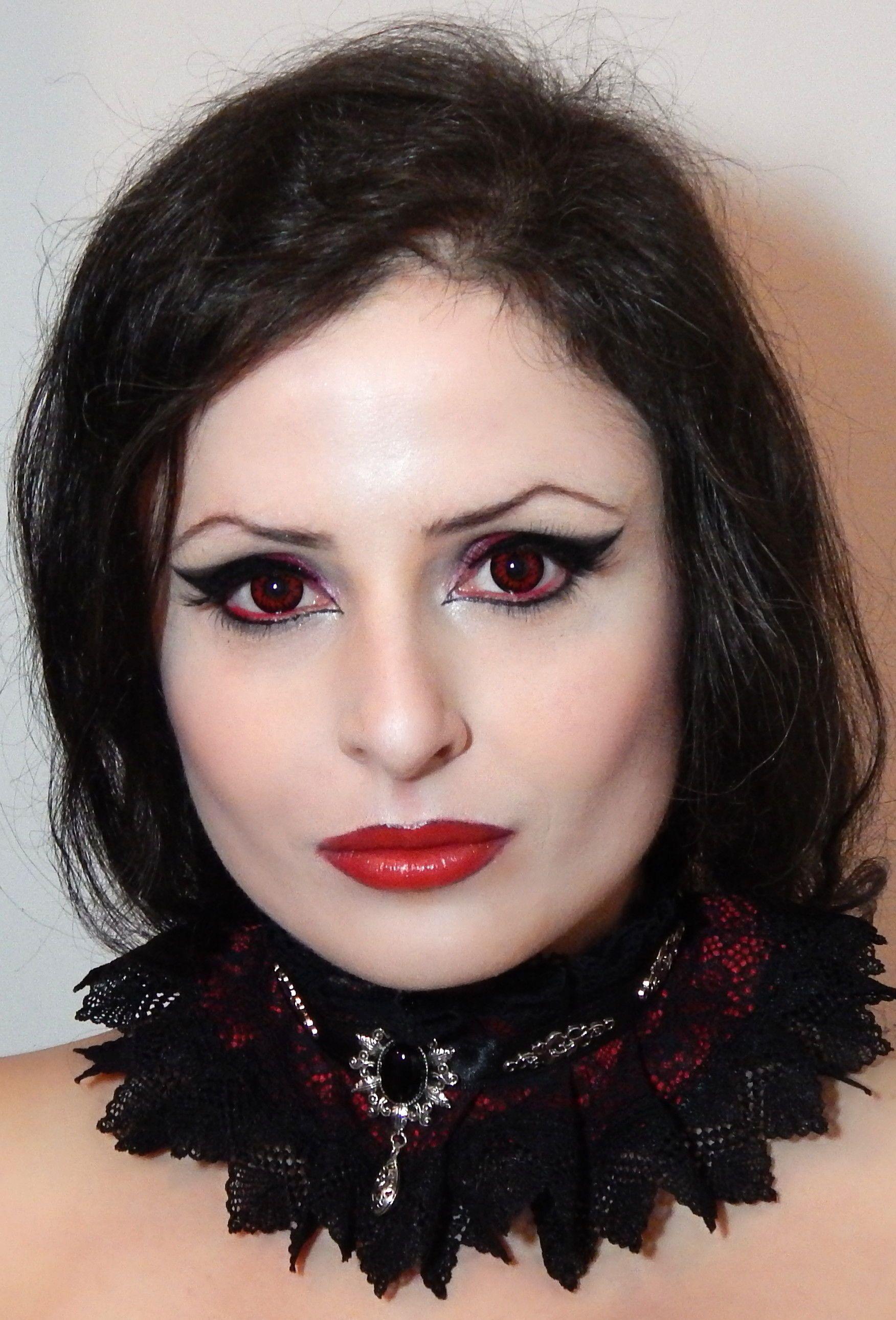 Gothic collar victorian choker elizabeth dark fashion romantic goth