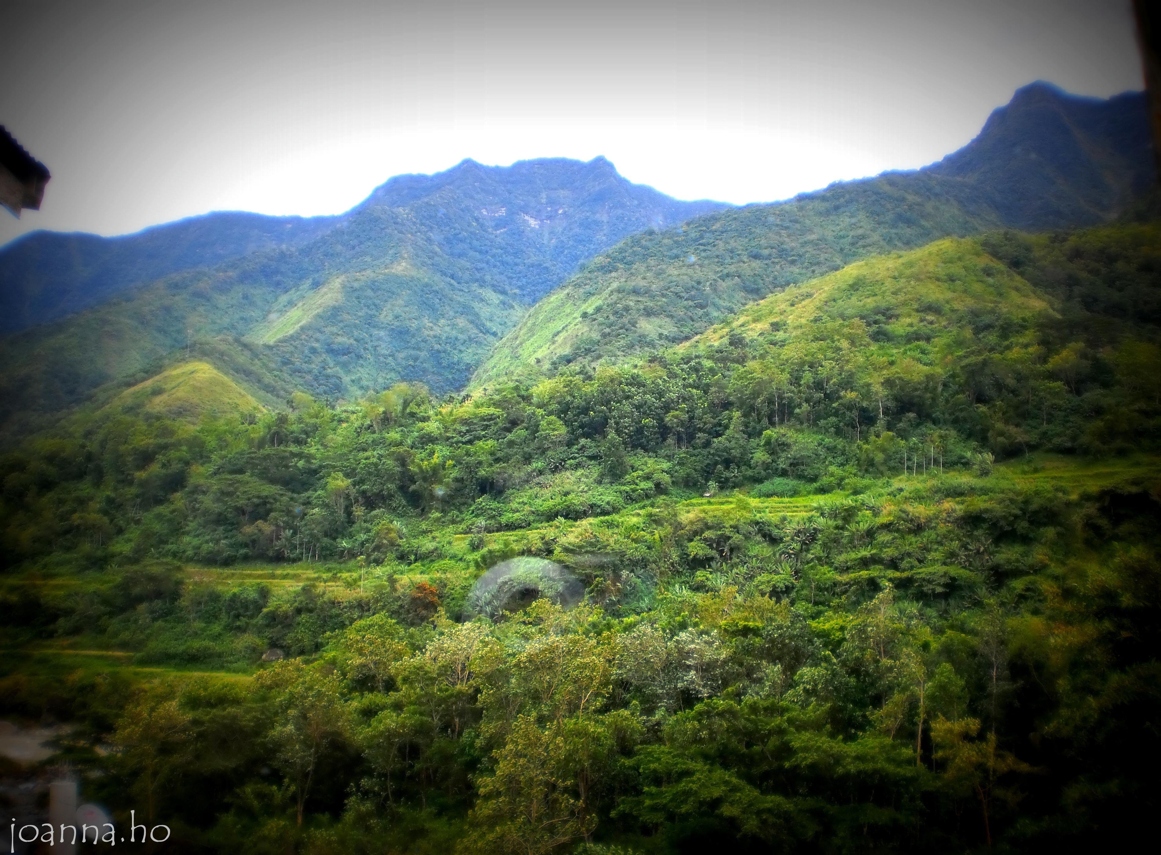 Sleeping Beauty Mountain in Kalinga Province | Natural ...