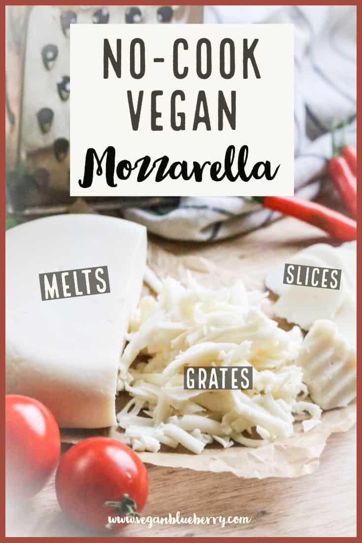 Real Vegan Mozzarella Cheese Shreddable Block Style Vegan Blueberry Recipe Easy Vegan Cheese Recipe Vegan Cheese Recipes Vegan Blueberry