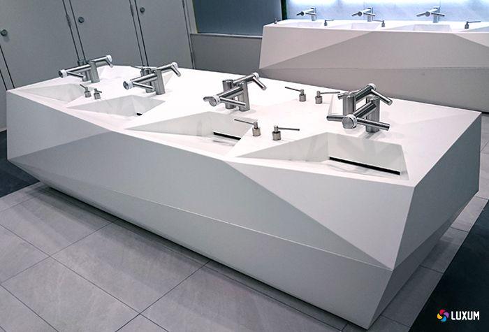 "futuristic washbasin - Luxum for ""Złote Tarasy"" Gallery ..."