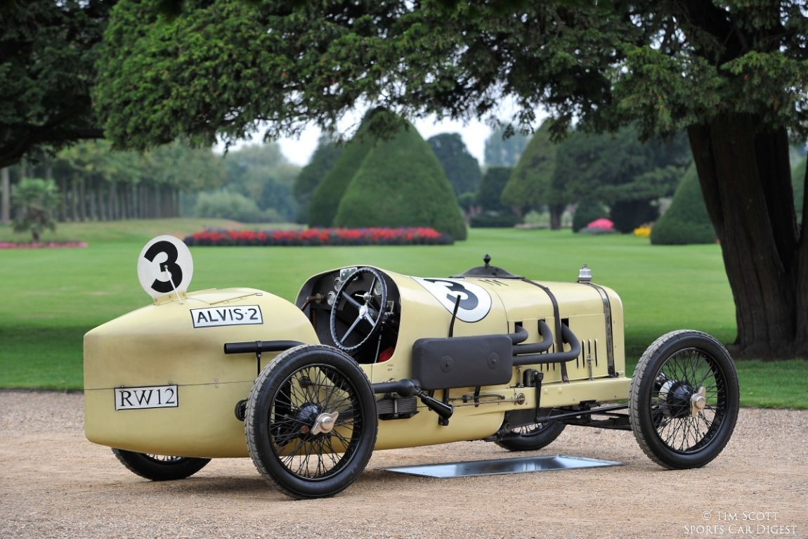 Alvis Mile Race Car A Very Early Incarnation Of The