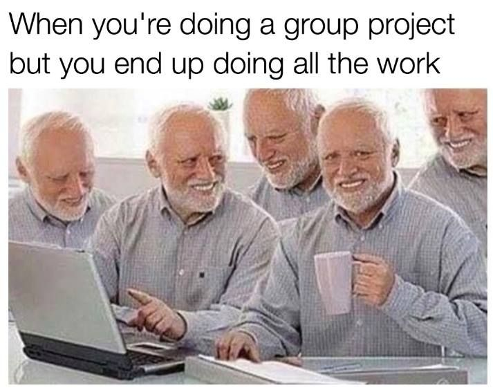 Group Project Funny Memes Humor School Memes