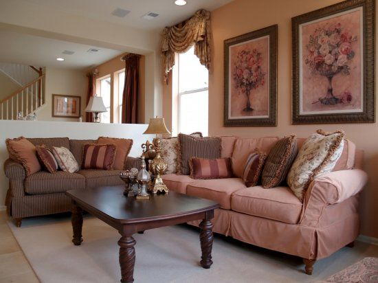 Light Pink And Brown Brown Living Room Decor Brown Living Room Pink Living Room